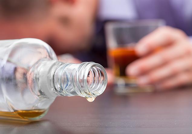 последняя капля алкоголя