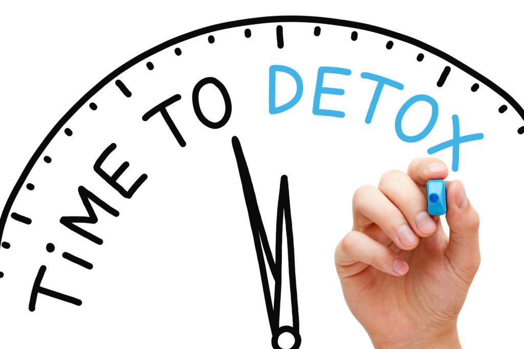 время детоксикации организма