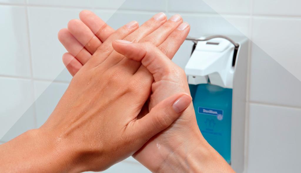 дезинфекция рук гелем